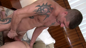 Extra Big Dicks: Gay Cesar Rossi playing with Sean Maygers