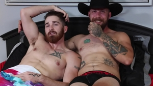Extra Big Dicks: Brunette Dustin Steele nailed by Nick Milani