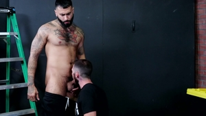 Men Over 30 - Athletic Jack Winters gay rimming scene
