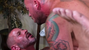 MenOver30.com: Brunette Clay Towers fucked anal sex scene