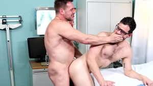 MenOver30.com - Hans Berlin in uniform bareback throat fuck