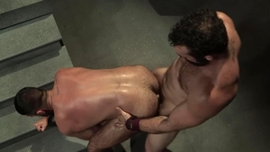 RagingStallion.com: Hairy Jaxton Wheeler masturbation