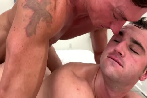 dirty homo gangbang With Muscled Hunks At Home
