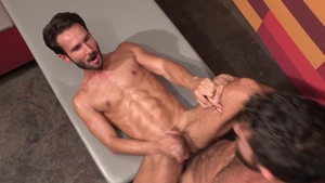 RagingStallion: Hottest Mark Sanz loves big cock Adam Ramzi
