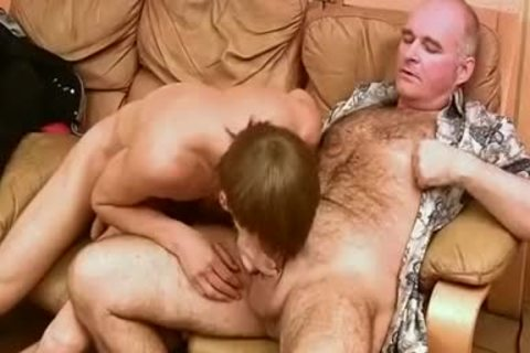 Vintage video Where Daddy & youthful Russians suck & fuck